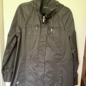 Calvin Klein raincoat
